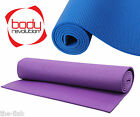 Yoga Mat Non Slip Exercise Pilates Gym Physio Fitness Aerobic Turbo Trainer Mat