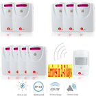 1byone 1000ft Driveway Alarm System Car Detector Infrared Motion Sensor Outdoor