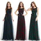 Ever Pretty Women's Polka Dot Sweet Evening Graduation Formal Prom Dresses 08753