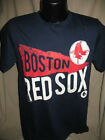 MLB Boston Red Sox Baseball Cooperstown Pennant T Shirt Mens Sizes Nwt Blue New on Ebay