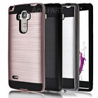 Hybrid ShockProof Hard Protective Case Cover for LG Stylo LS770/G4 Stylus Phone