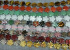 SS0816q     20mm Natural Semi-Precious Stone Flower loose Beads 15''
