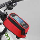 Universal Touch Screen Phone Pouch Bicycle Bike Frame Phone Case Holder Bag