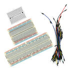 Solderless Prototype PCB Breadboard with Optional 65pcs Jumper Leads Cable Wires
