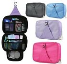 Wash Bag Toiletry Travel Makeup Waterproof Cosmetic Organizer Hanging Folding US