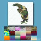 Vulture Eagle Perched - Vinyl Decal Sticker - Multiple Patterns & Sizes - ebn252