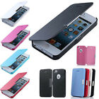 Magnetic Flip Leather Hard Pouch Case Cover for Apple iPhone 5C 6(4.7) Plus 5.5