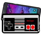 PERSONALIZED RUBBER CASE FOR SAMSUNG NOTE 8 5 4 3 RETRO VIDEO GAME CONTROLLER