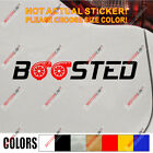 Powered By Racing Sport Car Decal Sticker vinyl fit for audi s line