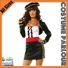 Womens Matador Spanish Flamenco Mexican Latin Fancy Dress Ladies Costume