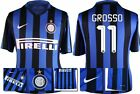 *15 / 16 - NIKE ; INTER MILAN HOME SHIRT SS / GROSSO 11 = SIZE*