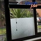 Frosted Frost Opaque Privacy  Solar  Window Film Tint - FC Squares Pattern