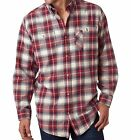 Peaches Pick - Backpacker Men's Yarn-Dyed Flannel Shirts, Plaid, Sizes S-3XL