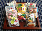 Japanese Novelty Sweets & Food Eraser Set - 10p extra p&p for each additional.