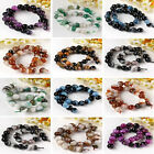 12/14MM Crystal Agate Round Ball Faceted Gemstone Loose Bead Jewelry DIY FB HOT
