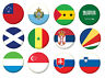 More images of Country Flag Pin Button Badge Magnet Keyring Bottle Opener Mirror - SA-SM