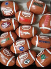 Official NFL Soft Sport Mini Footballs (x2) - Broncos, Cowboys, Packers, Giants $5.99 USD on eBay