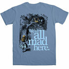 Herren Alice In Wonderland T Shirt - We're All Mad Here
