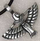 ISIS Egyptian Goddess Amulet of Magical Inspiration Healing power Pewter Pendant