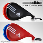Adidas Taekwondo Double Target Mitt Black / Red Kick Pad TKD Training Gear