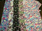 Amandam Absolute, Graphic, Medical, Scrub Top, MED, LG, XL, 1X, NWOT