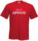 Aspergers Adults T-shirt, Staring at me will not cure me!