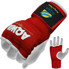 Inner Gloves Hand Wraps Boxing Gel Padded MMA Fight Protector Bandage Kick, Red
