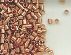 Solid Copper 3x3 Seamless Crimp Tube Beads, Choice of Lot Size & Prices