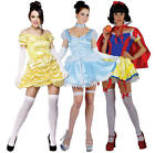 Sexy Fairytale Princess + Stockings Ladies Fancy Dress Character Womens Costume