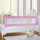 150/180cm Child Bed Rail KidsToddler Safety Bed Guard Protection Swing Down