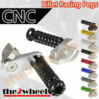 Multi Step Position Adjustable Foot Pegs FRONT KAWASAKI ZRX1200R /S 2001-2008