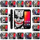 For LG Logos | Clip + Holster + Case Combo Kickstand Heroes and Superhero
