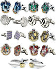 Harry Potter: Silver Plated Cufflinks - Knight Bus / Platform 9 3/4 / Slytherin