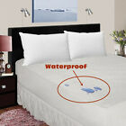 MATTRESS PROTECTOR  WATERPROOF TERRY TOWEL SINGLE DOUBLE KING SUPER KING