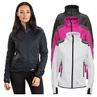 Trespass Taut Womens Softshell Jacket Lightweight in Pink Black & White