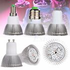 18 LED E27 18W Grow Light Lamp Veg Flower Indoor Hydroponic Plant Full Spectrum