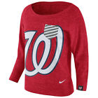 Washington Nationals Women's Gym Vintage Crew Shirt on Ebay