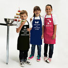 Personalised Childrens Kitchen Cooking Baking Apron by Inspired Creative Design