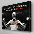 S568 Conor McGregor Here to Take Over UFC Quote Canvas Art Framed Poster Print