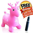 New Inflatable Bouncer Horse/Deer Bouncing Animal Hopper For kids Indoors Or Out