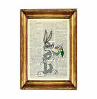 BUGS BUNNY PRINT POSTER PICTURE PHOTO DICTIONARY WALL ART CARTOON LOONEY TUNES