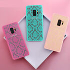 Retro Hollow Pattern Women Girl Thin Phone Case Cover For Samsung  S8 S8 Plus S7