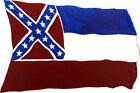Mississippi Flag State MS Vinyl Decal Decor Sticker Confederate Dorm Room Gift