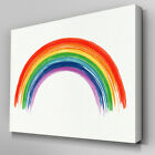 AB965 Rainbow children bedroom Canvas Wall Art Abstract Picture Large Print