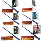 Halloween Harry Potter Hermione Dumbledore LED Light Magical Wand Deluxe Box New
