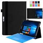 Leather Folio Card Wallet Case Cover Stand for Microsoft Surface Pro 4 / Pro 3