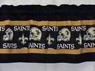 "New Orleans Saints NFL Football Pieced Blk/Gold Valance Choose:40"",52"",80"" x 13"" on eBay"