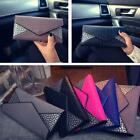Fashion Women PU Leather Clutch Wallet Long Card Holder Case Purse Handbag uf
