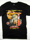 Hot Rod Full Service racing car old school tee shirt men's black Choose A Size