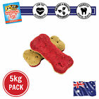 5KG SKIN AND COAT WHOLEMEAL FLAXSEED AND VITAMIN BISCUIT HEALTHY DOG TREAT